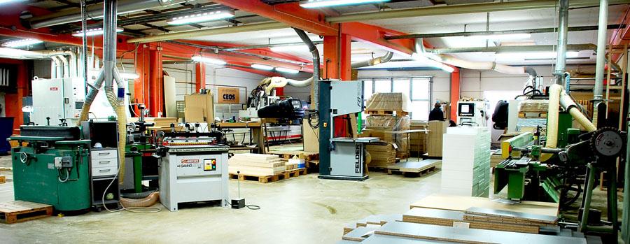 Delar av vår maskinpark